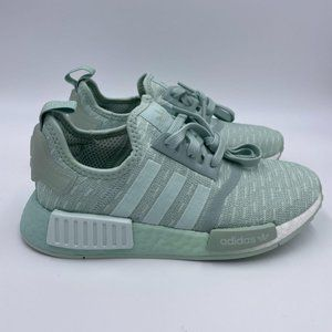 Adidas NMD R1 Green / White Womens Shoes